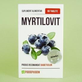 Myrtilovit PARAPHARM (60 de tablete)