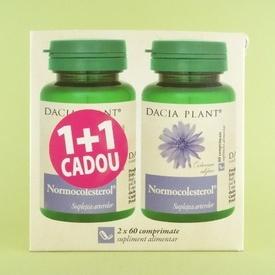 Normocolesterol DACIA PLANT (2 x 60 de comprimate)