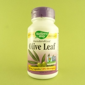 Olive Leaf - extract din frunze de maslin NATURE'S WAY (100 de capsule)