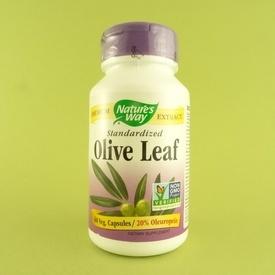 Olive Leaf - extract din frunze de maslin NATURE'S WAY (100 de capsule)