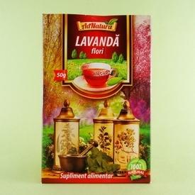 Ceai din flori de lavanda ADNATURA (50 g)