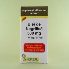 Ulei de Negrilica 500 mg HOFIGAL (60 de capsule moi)