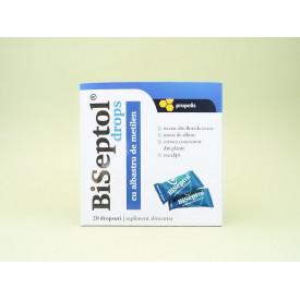 Biseptol drops cu propolis si albastru de metilen DACIA PLANT (20 dropsuri)