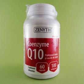 Coenzyme Q10 100 mg ZENITH PHARMACEUTICALS (60 de capsule)