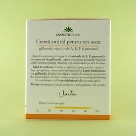Crema antirid pentru ten uscat COSMETIC PLANT