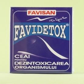 FAVIDETOX Ceai pentru dezintoxicarea organismului FAVISAN (50 g)