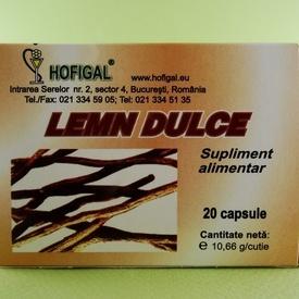 Lemn dulce HOFIGAL (20 de capsule)