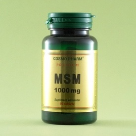 MSM 1000 mg    (60 de tablete)
