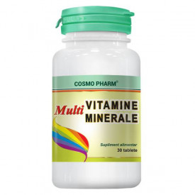 Multivitamine și multiminerale COSMO PHARM (30 de tablete)