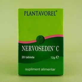 Nervosedin C PLANTAVOREL (20 de tablete)
