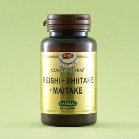 Reishi+Shiitake+Maitake COSMO PHARM (60 de capsule)