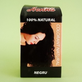 Vopsea de par negru SONIA HENNA (60 g)