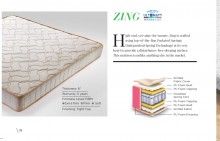 "Centuary Zing Premium Pocket Spring Mattress 6"" With 5 years Warranty"