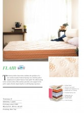 """Centuary Flair Luxury Pocket Spring Mattress 8"""" with Eurotop Memory Foam 7 Years Warranty"""