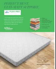 "Centuary Flexi Pro Mattress 6"" Profiled Bonded Memory Foam With 7 Years Warranty"