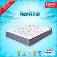 "KURLON MERMAID DUAL COMFORT MATTRESS 5""  WITH MEMORY FOAM & BREATHABLE BONDED FOAM WITH 7 YRS WARRANTY"