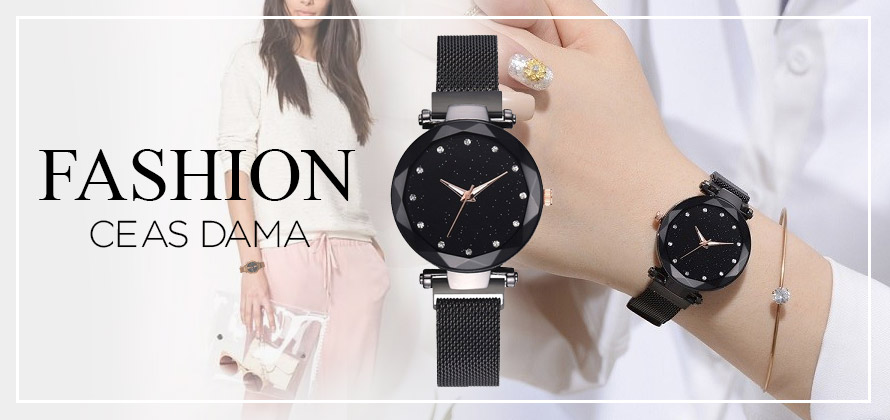 ceas dama quartz pretzmic fashion