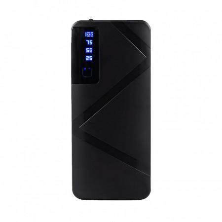 Acumulator Extern Profesional - R8, 20.000mAh, incarcare rapida, 3 Port-uri USB, Lanterna