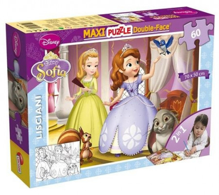 Puzzle de colorat maxi - Sofia (60 piese)