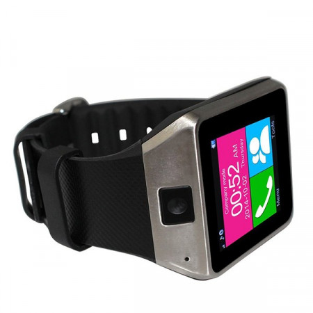 "Poze 2 in 1 SMARTWATCH - Telefon si CEAS, camera, Bluetooth, LCD 1.5"", Slot card. Camera 2MP - SW020"