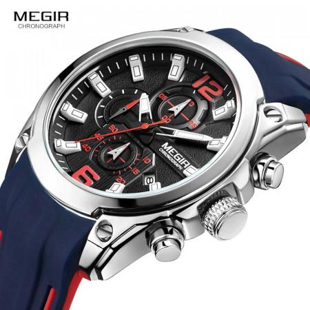 Ceas Barbatesc Megir, Quartz Cronograf, Q9575-V1