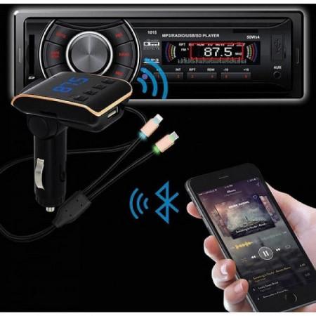 Modulator Bluetooth FM Q10 Car Kit Handsfree