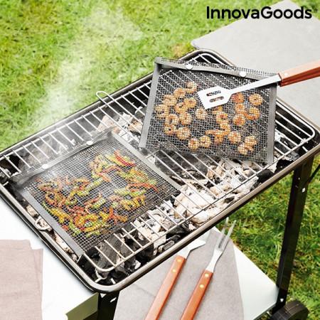 Plasă pentru grătar BBQNet InnovaGoods (Pachet de 2) Kitchen Foodies