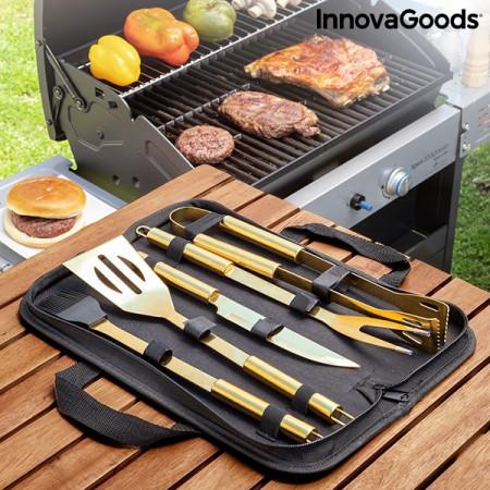 Trusă de lux cu instrumente pentru grătar BBQase InnovaGoods (6 Piese) Home Garden