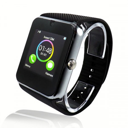 Poze Ceas Smartwatch cu Telefon IMK, Model 2016, Camera 2.00 Mpx, Apelare BT, LCD Capacitiv 1.54