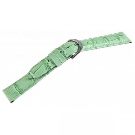 Curea din Piele, Culoare Verde, 12 mm, PM8000402-1403