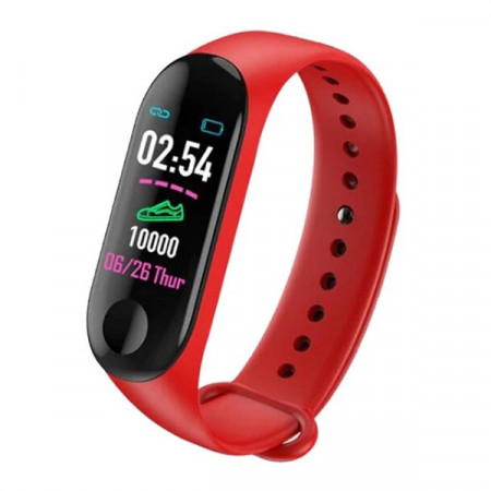 Bratara Smart Fitness Tracker M3X-ROSU