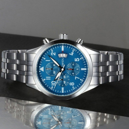 Ceas Barbatesc Swidu SWI-050-Albastru