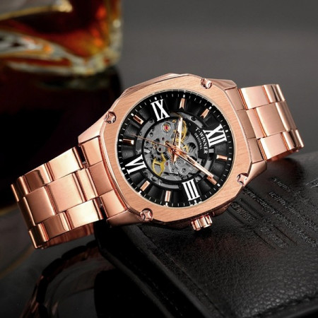 Ceas Automatic Skeleton Winner P016G-V5