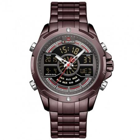 Ceas Barbatesc Chronograf Naviforce NF9170-V4