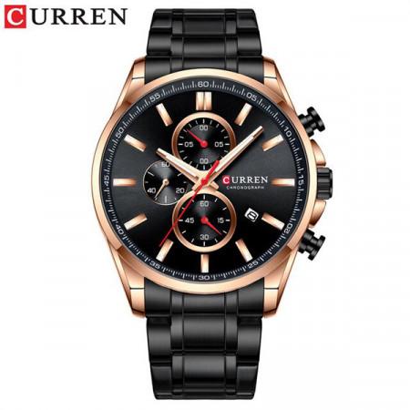 Ceas Barbatesc Curren Cronograf 8368-V3