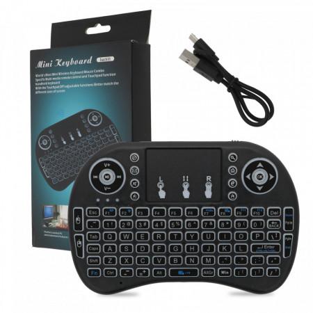 Tastatură wireless mini, pc, smart tv, PM59074513185533