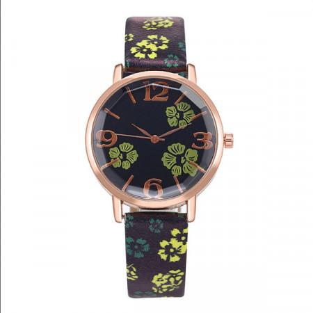 Ceas de Dama, Flower Print Q9604-V3