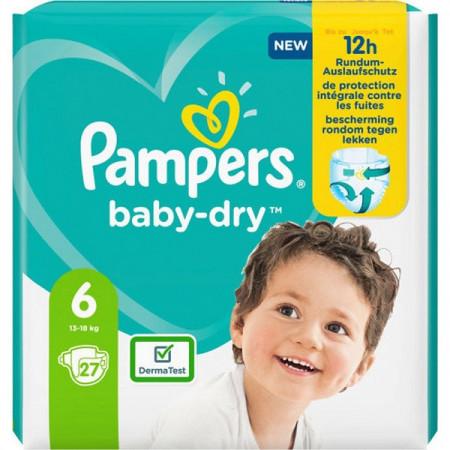 Scutece Pampers Baby-Dry, marimea 6, 13-18 Kg, 27 bucati, PM2264796-23