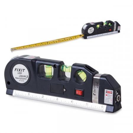 Boloboc cu laser si ruleta 250 cm, PM112043