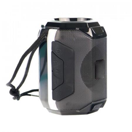 Boxa stereo Bluetooth BS-162, Portabila, Radio FM, USB, TF Card, lumina ambientala