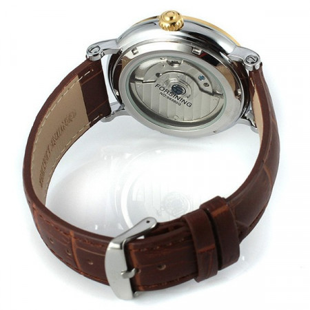 Poze Ceas Barbatesc Automatic Tourbillon Forsing FOR1002-ARGINTIU