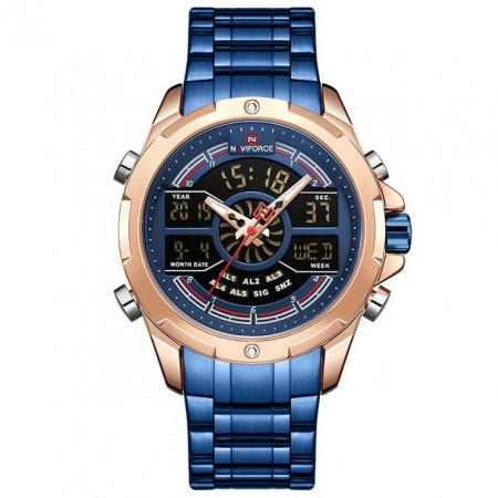 Ceas Barbatesc Chronograf Naviforce NF9170-V6