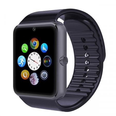 Poze Ceas Smartwatch cu Telefon IMK, Model 2016, Camera 2.00 Mpx, Apelare BT, LCD Capacitiv 1.54