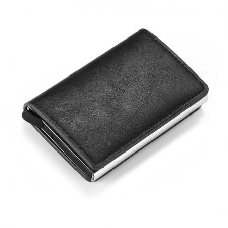 Portofel Unisex pentru carduri, Negru, PTL030-V2