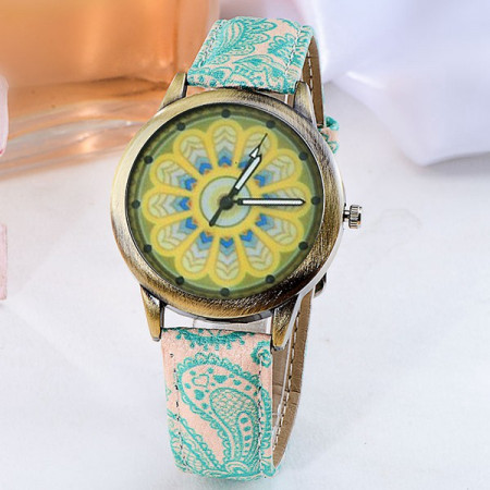Ceas Dama Fashion Mandala Q330