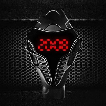 Ceas LED Alien L045-NEGRU