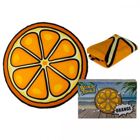 Prosop plaja Orange, 150 cm, PM75943
