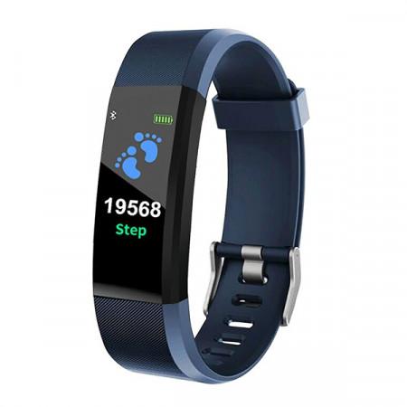 Smart Wristband 115 Plus Fitness Tracker - Albastru