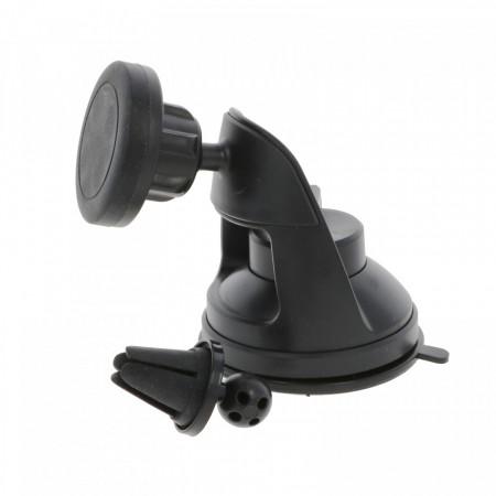 Suport telefon auto 360, prindere cu ventuza, PM-0045