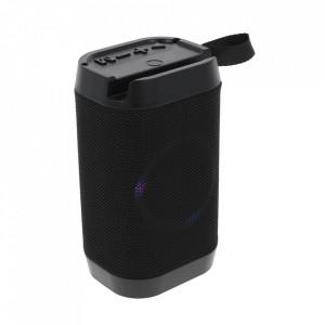 Boxa Portabila Bluetooth, Lanterna, TF, USB, LED LV10-BLACK